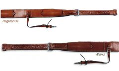 """3"""" Floral Tooled Flank Cinch"""