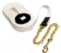 Cotton Lunge Line with Chain