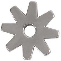 """8 Point Replacement Rowel, Stainless Steel, 1"""""""