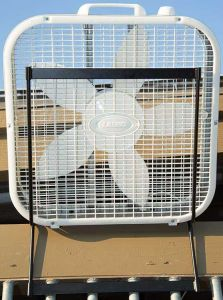 Collapsible Box Fan Holder