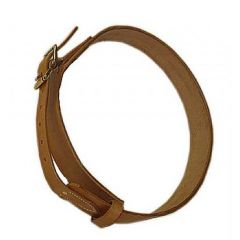 Wide Leather Cribbing Strap