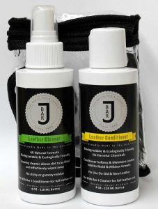 Bar J Leather Cleaner & Conditioner Combo Pack
