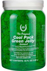 Horse Health Cool Pack Green Jelly Liniment 1/2 Gallon