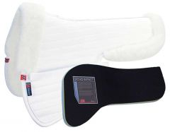 T3 Matrix Ergonomic Half Pad with CoolBack and Ortho Impact Protection - White