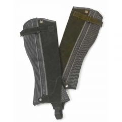 Ovation Ribbed Suede Half Chap - Ladies'