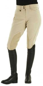 Ovation Taylored Zip Front Knee Patch Euro Seat Breeches