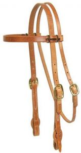 """Quick Change Browband Headstall - 5/8"""""""