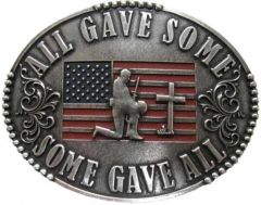 All Gave Some, Some Gave All Belt Buckle