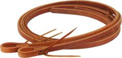 """Oiled Harness Leather Reins - 3/4"""" Wide, 8' Plus"""