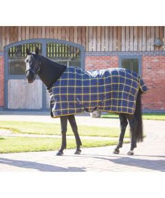 Tempest Plus Lite Stable Rug - Navy Check