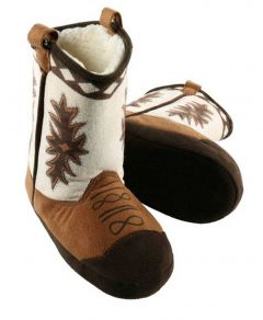 Lazy One Stampede Boot Slippers Kids