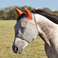Animal Rescue Crusader Fly Mask With Ears