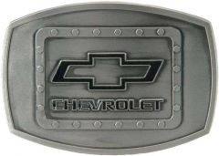 Chevy Riveted Belt Buckle