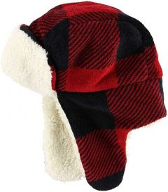 Lazy One Bomber Red Plain Hat