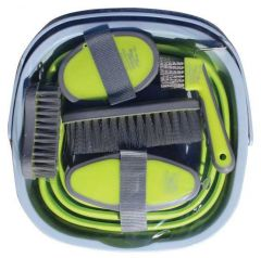 Grooming Kit With Collapsible Bucket