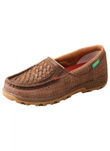 Twisted X Women's Slip- on Driving Moc